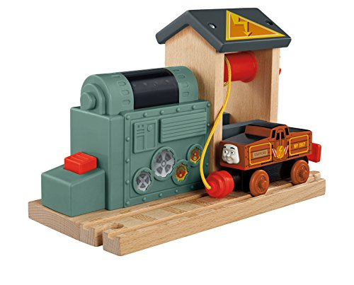Fisher-Price Thomas The Train - Wooden Railway Battery Charging Station