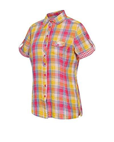 ICEPEAK Camisa Mujer Lindsey Fucsia / Amarillo