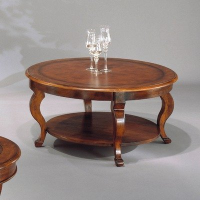 Buy Low Price Bassett Mirror Company Pontevecchio Round Coffee Table Set With Round End Table