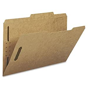 Smead Fastener File Folder, 2 Fasteners, 2/5-Cut Tab Right of Center Positions, Legal Size, Kraft, 50 per Box  (19882)