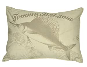 Tommy Bahama Decorative Bed Pillows : Amazon.com - Tommy Bahama Sailfish Logo Decorative Pillow - Throw Pillows