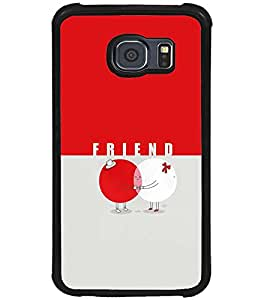 PRINTSWAG FRIENDS Designer Back Cover Case for SAMSUNG GALAXY S6