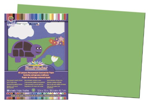 Pacon Groundwood Construction Paper 9607 - 1