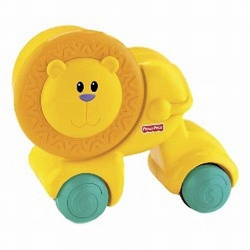 Fisher-Price Growing Baby Press & Crawl Lion