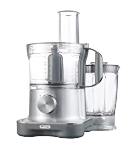 DeLonghi 9-Cup Capacity Food Processor with Integrated Blender by DeLonghi