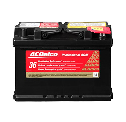 ACDelco 48AGM Professional AGM Automotive BCI Group 48 Battery (47 Car Battery compare prices)