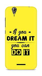 Amez If you can Dream it You can do it Back Cover For Acer Z630S