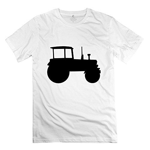 Design Tractor Regular Mens Tee Shirt