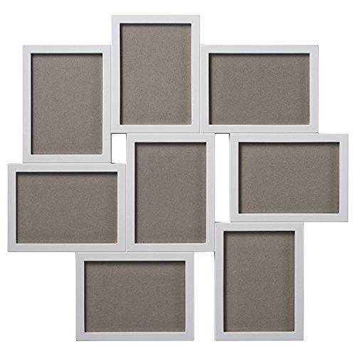 IKEA VAXBO コラージュフレーム 写真8枚用 ホワイト 20256622