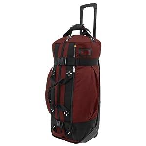 Club Glove Rolling Duffle II Bag : Burgundy by Club Glove