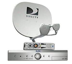 1 Room DIRECTV HD System with a DIRECTV HD Receiver (Lease)
