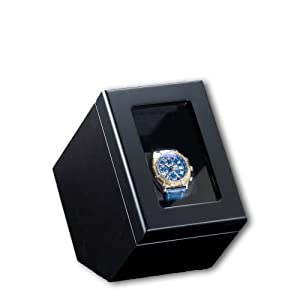 Birkenstock Piano Silk Dual Direction Watch Winder Perfect for Breitling Omega Rolex Tag Cartier Hublot etc