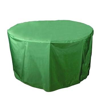 9 probache housse housse de protection pvc pour table ronde ou ou ovale chaises for Housse table de jardin ovale