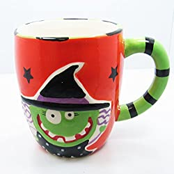 Ceramic Halloween Freaky Friendz Coffee Mug - 16oz (Witch)