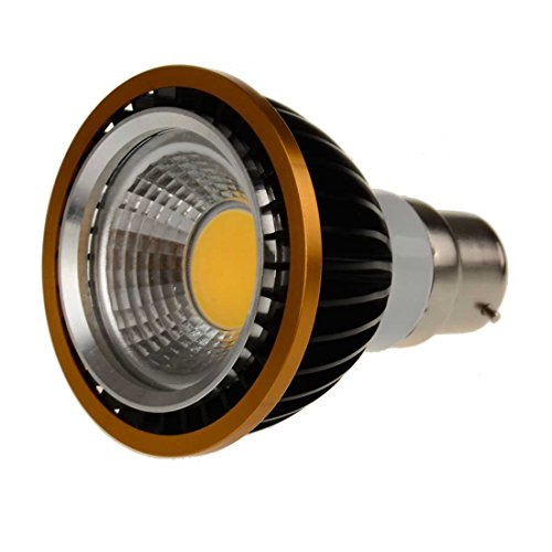 Sungetace 9W Par20 Led Spotlight Bulb Flood Ceiling Downlight Lamp Brightness B22 Black Case Warm White