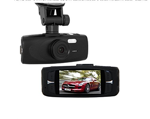 Full Hd1080P G1Wh Lcd Car Dvr Recorder G-Sensor Novatek Nt96650