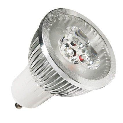 Lohas Down Lighting Led Spotlight Lamp Bulb (40Watt Incandescent Equivalent) Gu10 110-240V Cool White,Dimmable