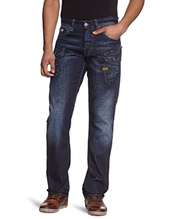 G Star NATTACC Straight's Jeans Dark Aged W33INxL32IN