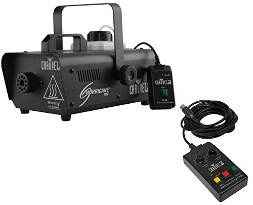 Chauvet H1000 Hurricane 1000 Fog Machine + FC-T Wired Timer Remote (Fog Machine With Timer compare prices)