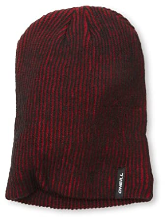 O'Neill Men's Two Tone Beanie, Rio Red, One Size