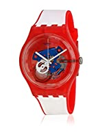 Swatch Reloj de cuarzo Unisex Unisex Clownfish Red 41 mm