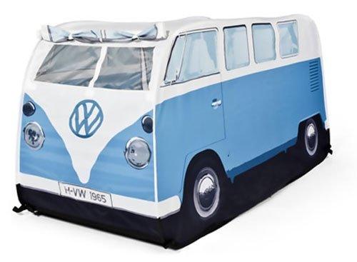 Vw Camper Van Child'S Pop Up Play Tent-Blue front-28098