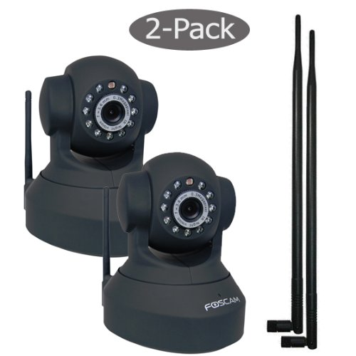 Foscam Pan & Tilt Wireless IP Camera ...