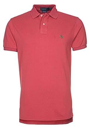 Hommes SLIM FIT Polo rouge   Polo Ralph Lauren   Intelligent Nouveau Hiver 2014 - 2015 Vêtements Pour Hommes Classique FR S'adapter Excessif de (S)