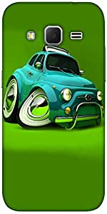 Snoogg Deformed Fiat 2621 Solid Snap On - Back Cover All Around Protection Fo...