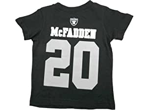 Darren McFadden Oakland Raiders Jersey Name And Number T-shirt Small 8