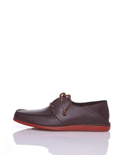 Rockport Zapatos Casual Cts Moc Oxford Marrón Oscuro