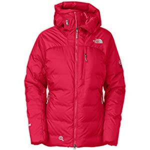The North Face Women's Prism Optimus Jacket with Hood, Colour: Barberry Pink (VG1), Size: L