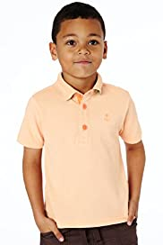 Short Sleeve Piqu Oblong Polo Shirt