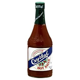 Crystal Sauce Hot 12.0 OZ (Pack of 2)