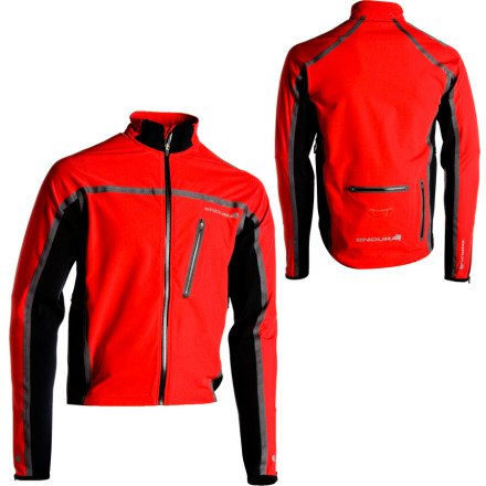 Endura Stealth Soft Shell Jacket Red Medium