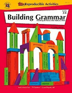 FRANK SCHAFFER PUBLICATIONS BUILDING GRAMMAR GR. 3-4BUILDING GRAMMAR GR. 3-4