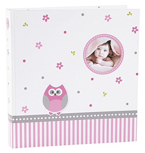Goldbuch 15328 Bambino album Baby World Owl, 64 pagine con carta glassine, circa 30 x 31 cm