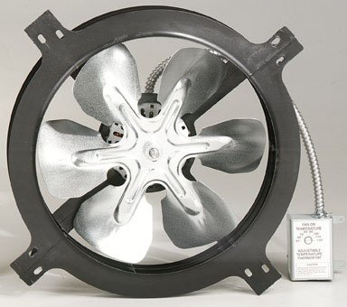 Air Vent Inc. Gable Attic Ventilator 53315 Attic And Whole House Fans (Vent Air Fan compare prices)