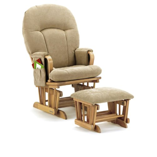 Discover Bargain Shermag Honey Glider Rocker, Sage