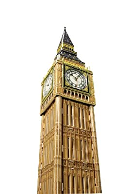 "POP Out World - World Architecture Series ""Big Ben - London (with working clock movement)"""