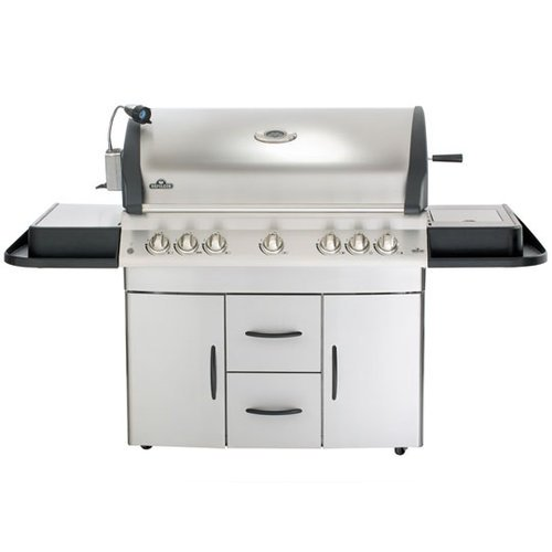 Napoleon M730Rsbinss-1 Mirage Natural Gas Grill With Infrared Rear And Side Burner