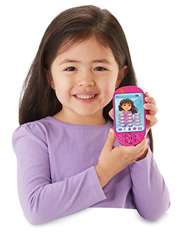 Fisher-Price Nickelodeon Dora and Friends Dora Talk & Play Smartphone - 1