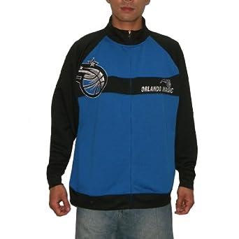 NBA Orlando Magic Mens Zip-Up Sweatshirt Jacket with Embroidered Logo by NBA