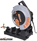 Evolution Rage2 355mm TCT Multipurpose Cut Off Chop Saw 110v