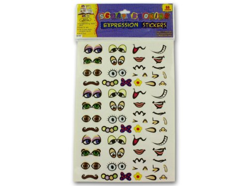 48 Pack of Expression stickers (set of 66)