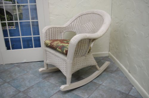 Rocking Chair Wicker front-925501