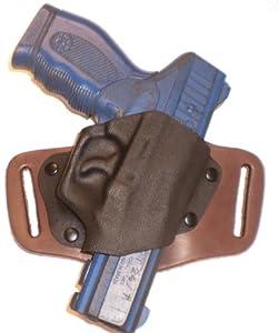 Beretta Nano 9mm OWB Right Hand Brown Gun Quick Slide Holster