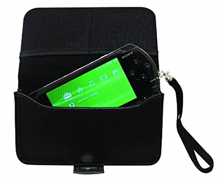 PSP Soft Genuine Leather Case