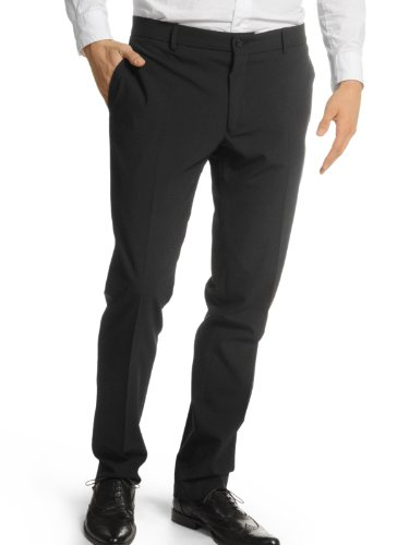 Selected Homme One Repone Trs NOOS F Slim Men's Trousers Black W34INxL32IN