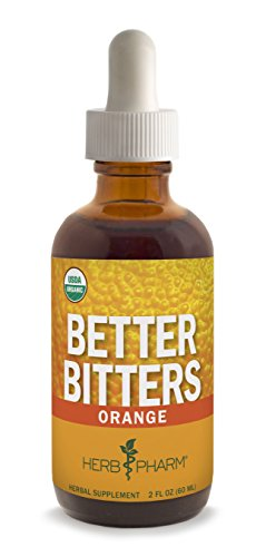 Herb Pharm Better Bitters Certified Organic Digestive Supplement, Orange, 2 Ounce (Herb Pharm Ginger Extract compare prices)